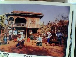 CAMBOGIA  CAMBODIA DANCING KHMER  STOMASH   N1990 EU17725 - Cambogia