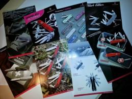 PLus De 20 Publicités Différentes De VICTORINOX. Couteaux SUISSE - Bücher, Zeitschriften, Comics