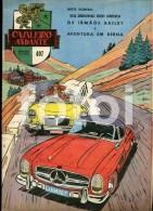 1961 CAVALEIRO ANDANTE PORTUGAL MAGAZINE MERCEDES BENZ 300SL ROADSTER MGA RACE COVER - Pour Enfants