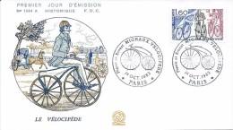 2290 - LE VÉLOCIPÈDE - 01-10-1983 PARIS - 1980-1989