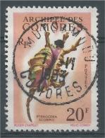 French Comoros, Sea Snail, Scorpion Conch (Lambis Scorpius), 1962, VFU - Comoro Islands (1950-1975)