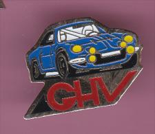 44778- Pin's.Rallye Automobile..Porsche.GHV. - Rallye