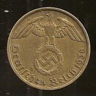 Allemagne, 10 reichspfennig 1938 J (1121)