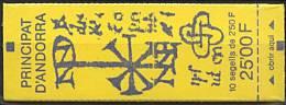 Andorre, N° 409**, Carnet N° 4 Y Et T - Carnets