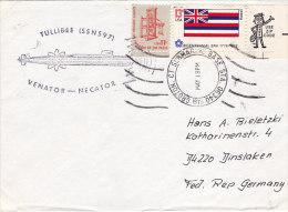 Tullibee Submarine Sous Marin 1976 - Postal History