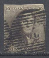 Belgique YT N°10 Roi Léopold 1° Oblitéré ° - 1849 Epaulettes