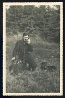 Cpa Carte Photo (plutôt Photo) Militaire Avec Radio De Campagne à St Wendel Allemagne En 1951   FRM 4 - Andere