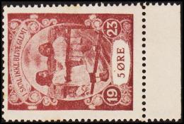 1923. I SKAL IKKE BLIVE GLEMT. 5 ØRE.  (Michel: 1923) - JF128410 - Non Classés
