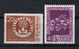 Zweden Y/T 448 / 449 (**) - Suède
