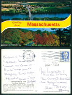 USA -  [OF #13045] -  GREATINGS FROM MASSACHUSSETS - Springfield