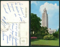 USA -  [OF #13046] - BATON ROUGE - STATE CAPITOL BUILDING  LOUISIANA - Baton Rouge
