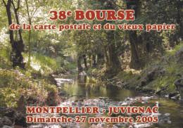 MONTPELLIER 38EME BOURSE CARTE POSTALE ET VIEUX PAPIER 2005  N° 132 (dil272) - Bourses & Salons De Collections