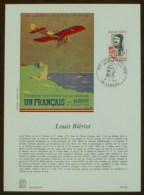 FDC Sur Document - YT N°1709 - LOUIS BLERIOT / CAMBRAI - 1972 - 1970-1979