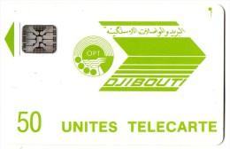 TELECARTE  DJIBOUTI  50 Unités  Premiére Emission - Djibouti