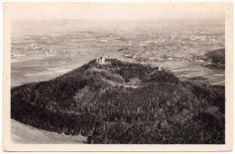Alte Foto-AK Luftbild Görlitz - Die Landeskrone - Görlitz