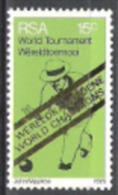 Südafrika South Africa RSA 1976 Sport Sportarten Spiele Freizeit Bowling-Weltmeisterschaften, Mi. 491 ** - Südafrika (1961-...)