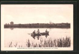 CPA Lamarche-sur-Saone, Vu De L'embouchure De La Bèze, Bateau à Rames - Unclassified