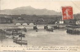SAINT JEAN DE LUZ - 64 -  Les Deux Ponts Et La Rhune  -  VAN - - Saint Jean De Luz