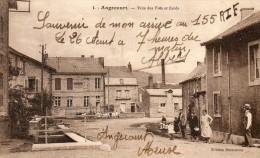 CPA ANGECOURT. Vue Des Près Et Des écoles, Personnages, 1939 - Non Classificati
