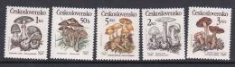 Czechoslovakia 1985 Mushrooms MNH - Czechoslovakia