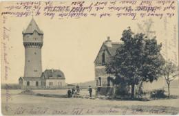 1416 Deutschland Germany Paunsdorf Bei Leipzig Partie Am Wasserturm, Sent To Finnland, Hki 1909 Verlag Reinhold Knobbe - Otros