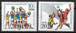 DDR 1983 / MiNr.  2814 - 2815   ** / MNH   (n2714) - [6] République Démocratique