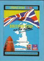 BRITISH AIRWAYS - ADVERTISING - TURISMO BRITÂNICO - TOURISM - 2 Scans - Publicidad