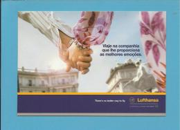 LUFTHANSA - ADVERTISING - Promoção De Primavera 2004 - 2 Scans - Publicidad