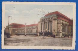 Deutschland; Leipzig; Bahnhof; Sonderstempel Bach; 1935 - Leipzig