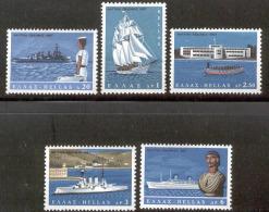 GREECE 1967 (Vl 1015-1019) Naval Week MNH - Greece
