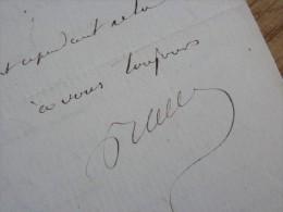 Jacques Guillaume BALLARD (1801-1880) Hopital BAREGES - Maire CHARNAY Les MACON - AUTOGRAPHE - [ Charles Fourier ] - Autographs