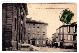 Auch Eglise Saint Orens Et Rue Ledru Rollin - Auch