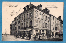 76.SAINT VALERY EN CAUX.HOTEL DE PARIS.EMILE MORTREUX. - Saint Valery En Caux