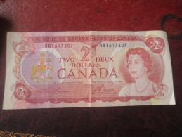 2 DOLLARS - CANADA - 1974- VOIR PHOTOS - Canada