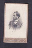 Petite Photo Ancienne - Photographe Cudel à Chameroy ( Rochetaillée Aujourd'hui ) ( Walter Kenz Séjour à Langres 1903) - Geïdentificeerde Personen