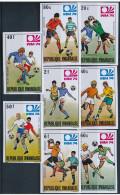 Rwanda - 578/585 - Non Dentelé - Imperforated - World Cup 1974 Munich - MNH - Coppa Del Mondo