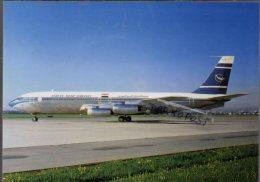 Boeing 707-436 Aircraft Syrian Arab Airlines B 707 Avion Aviation B707 Airplane B-707 Luft - 1946-....: Era Moderna