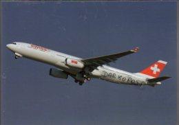 Airbus A330-343X Aircraft Swiss Airlines A 330 Avion Swissair Aviation A330 Airplane A-330 Luft Toulouse - 1946-....: Era Moderna