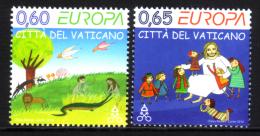VATICAN/Vatikanstaat, EUROPA 2010 Children´s Books, Set Of 2v** - Europa-CEPT