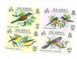 579/82  Série Oiseaux Luxe Sans Charniéres  (pag16) - Leyenda Inglesa