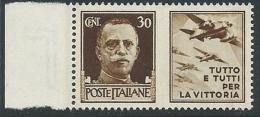 1942 REGNO PROPAGANDA DI GUERRA 30 CENT MNH ** - VA02-9 - 1900-44 Victor Emmanuel III.