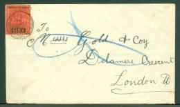 British GUIANA 1906,cover  To London (very Little Horizontal Bend) (Ref 142) - British Guiana (...-1966)
