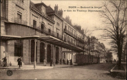 21 - DIJON - Gare Des Tramways Départementaux - Dijon