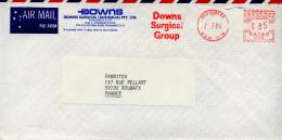 EMA Satas 12134.Australie,Downs Surgical Group,santé,médecine,chirurgie,Rydalmere,N.S.W. 2116,lettre 2.7.1984 - Medicine