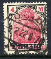 DANZIG 1920 4 Mk. Postally Used, Expertised.  Michel 14 - Danzig