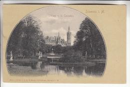 DEUTCHLAND Allemagne - SCHWERIN : Schloss V.d. Cascaden - CPA - - Schwerin
