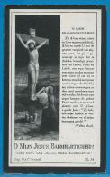 Bidprentje Van Aloys Braekevelt - Izegem - 1871 - 1918 - Devotion Images
