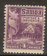 Samoa 104 * Foto Estandar. 1922. Charnela - Samoa