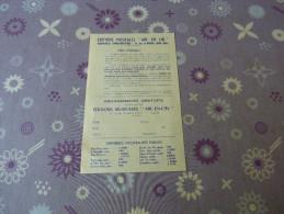 Bulletin D'Abonnement - Vieux Papiers