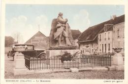 Cpa De Mirebeau,le Monument,beau Plan - Mirebeau